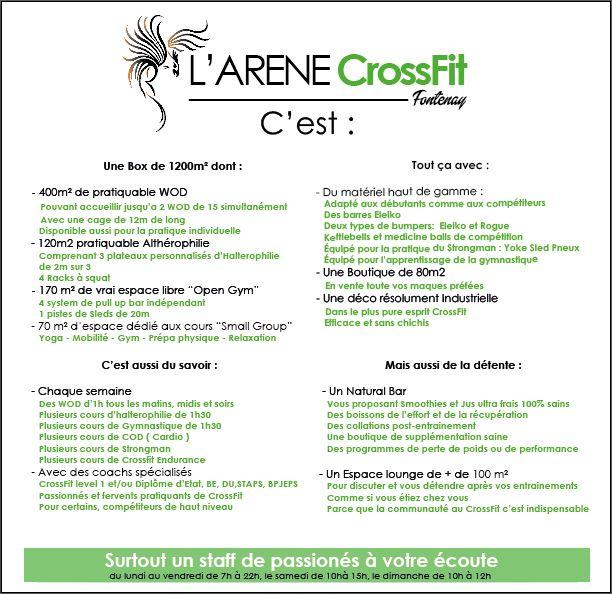 LArne CrossFit Fontenay Le 10min De Paris